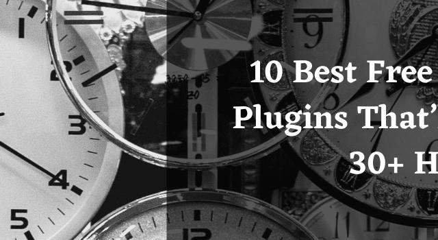10 Best Free WordPress Plugins