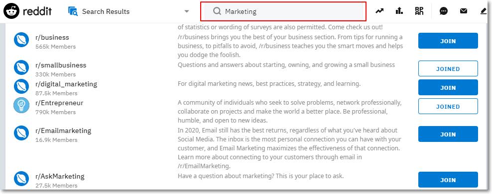 Reddit Marketing 5