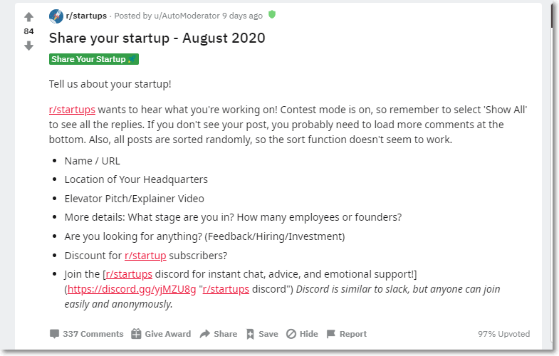 Reddit Marketing 6